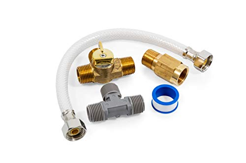 Water Bypass Valve - Camco 35983 Quick Turn Permanent By-Pass Kit - Lead Free