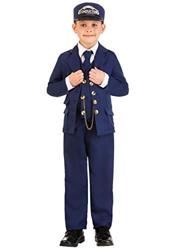 North Pole Train Conductor Costume Child Small