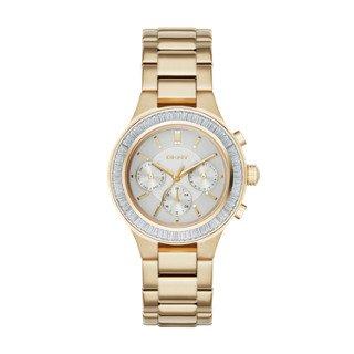 Dkny Gold Watch (DKNY Women's NY2395 CHAMBERS Gold Watch)