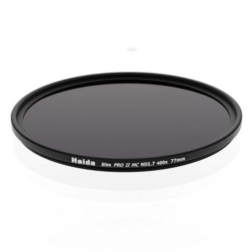 Haida 77mm Slim PROII Neutral Density Multi-Coated ND 2.7 400x Filter