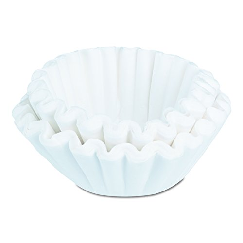 BUNN GOURMET504 Commercial Coffee Filters, 1.5 Gallon Brewer (Pack of 500) ()