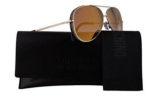007S MOS MOS007S de Gafas J5GFQ de mm sol lente MOS dorado espejo 61 007 S S Moschino con MOS007 tUq1O1w6