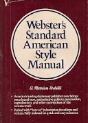 Webster's Standard American Style Manual