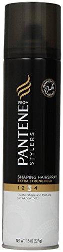 (Pantene Pro-V Stylers Shaping Extra Strong Hold Hair Spray, 11.5 oz)