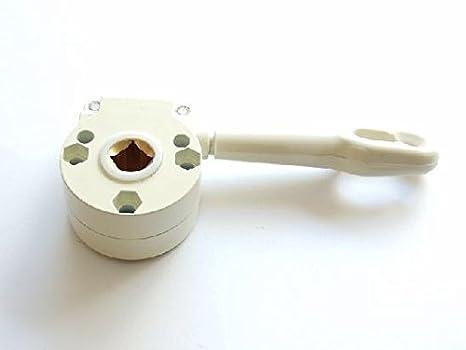 Componenti Per Tende Da Sole.Awitalia Argano Arganello Di Colore Bianco Accessori Per Tende