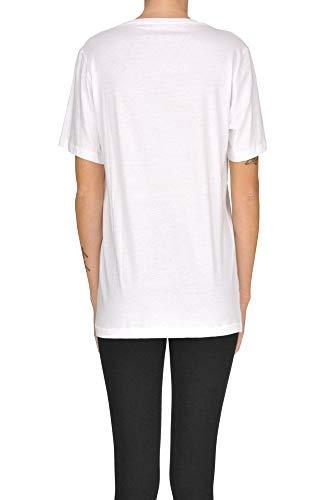 Mujer Algodon shirt T Blanco Mcgltps000005109e Happiness 7wqzfRB1w