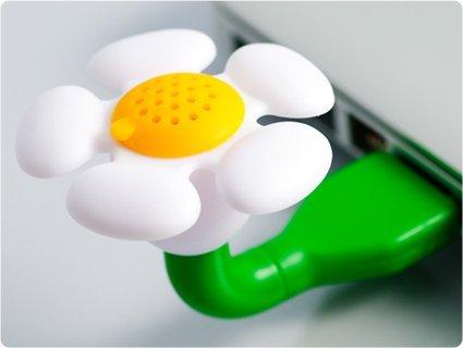 USB Scent Flower - White Chamomile (Oil Wht)