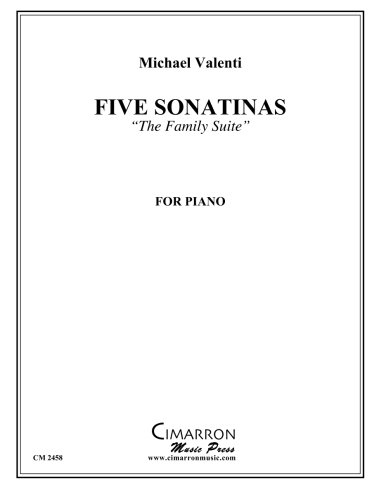 Download Five Sonatinas for Piano: The Family Suite pdf epub