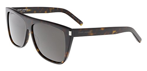Saint Laurent 004 Havana Smoke SL1 Wayfarer Sunglasses Lens Category 3