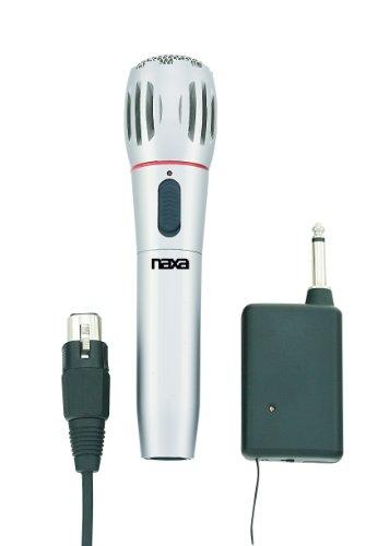 NAXA Electronics Instrument Dynamic Microphone (NAM-982) (Trend Power Tools)
