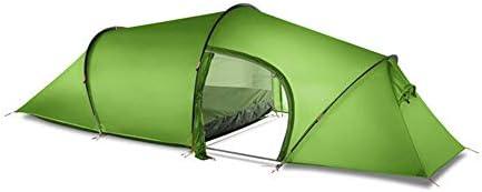 テント HCGS キャンプ テント 2人2部屋4シーズントンネル15dシリコン屋外キャンプハイキングクライミング超軽量大スペース210t