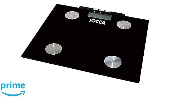 Jocca 7148 - Bascula para medir la grasa, color negro: Amazon.es: Salud y cuidado personal