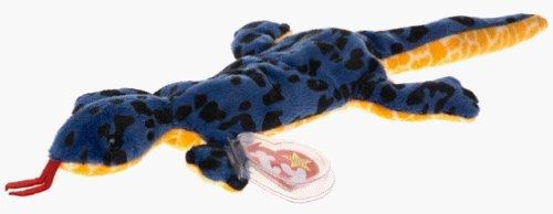 Ty Beanie Babies - Lizzy the Blue Lizard by Ty (Baby Ty Beanie Lizard)