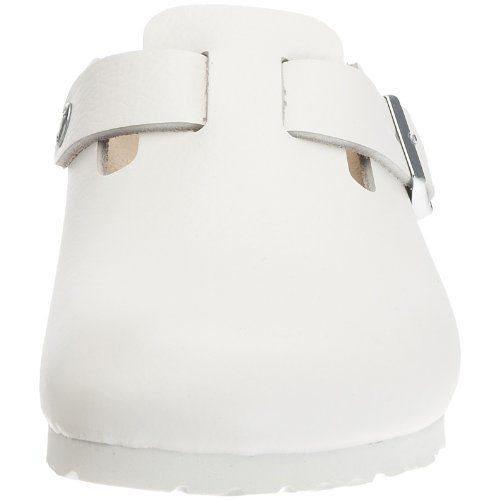Birkenstock Boston 60431, Chaussures  mixte adulte - Blanc,  35 (normal) EU
