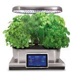AeroGarden Harvest Touch with Gourmet Herb Seed Pod Kit, Stainless Steel by AeroGrow (Image #3)