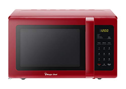 (Magic Chef MCD993R 0.9 Cubic-ft Countertop Microwave (Red))