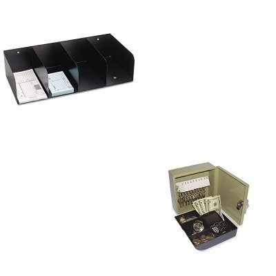 KITMMF266066404PMC04982 - Value Kit - Securit Key Cabinet/Drawer Safe (PMC04982) and MMF Check Separator (MMF266066404) (Mmf Check Separator)