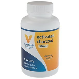 the Vitamin Shoppe Activated Charcoal Capsules by Vitamin Shoppe
