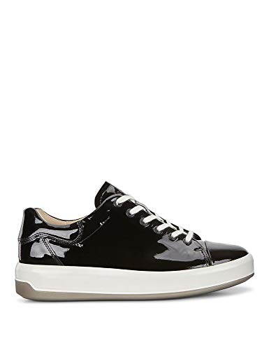 Basse Donna Soft Black Sneaker 9 Ecco wqYgx1tv1