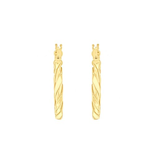 Carissima Gold - Créoles - Or jaune 9 cts - 1.53.9949