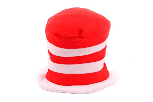Halloween Costumes Cat In The Hat Homemade (elope Baby Toddler Cat in The Hat Fleece, Red/white, One)