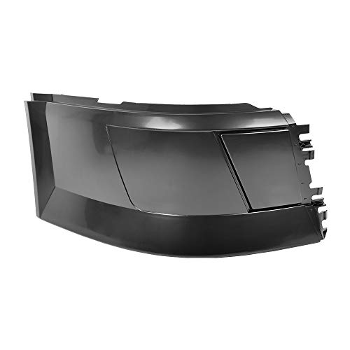 Side Bumper Right Passenger Side Without Trim Without Fog Light Hole Black Fit Volvo VNL 2004-2015