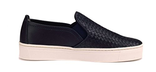 On Donna Blu Scarpa Navy Flexx The Sneak Slip Name 0YSXaq