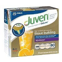 Juven Therapeutic Nutrition Drink Mix - Orange, (30 Packets) by Juven by Juven