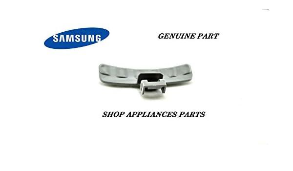 Tirador de puerta (plástico gris. L 11cm) lavadora DC6401524A ...