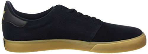 Adidas Seeley Domstol Bw0658 Mens Skor Svarta