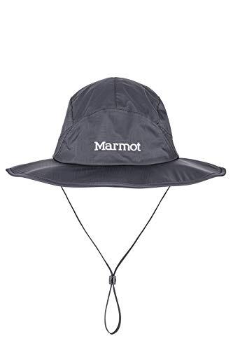 Marmot PreCip Eco Safari Hat - Mens, Black, Small/Medium, 13980-001-S/M