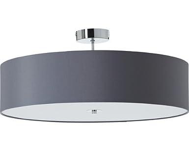 Brilliant Andria Plafonnier LED Ø 60 cm Gris foncé: Amazon
