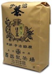 宇治茶専門店の「特上ほうじ茶」500g袋入 京都和束と滋賀朝宮の純煎茶の一番茶葉
