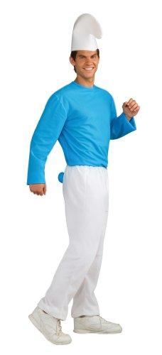 Halloween Smurf Costume (Rubie's Costume The Smurfs 2 Adult Smurf, Blue/White, Standard)