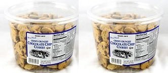 - Trader Joe's 2 Pack-trader Joe's Crispy Crunchy Chocolate Chip Cookies 18 Oz