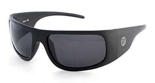 Filtrate Eyewear VINYL Sunglasses- Matte Black with Grey ()