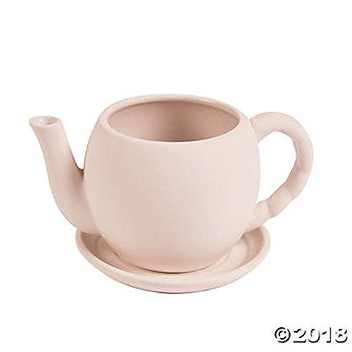 DIY Ceramic Tea Pot Flower Planter Container 7
