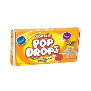 TOOTSIE POP DROPS THEATER BOX 3.5 OUNCES 12 COUNT by Tootsie