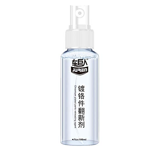 Fan-Ling 100ML Rust Remover,Metal Surface Chrome Paint Maintenance Derusting Spray, Anti-Rust Lubricant,for Automotive Chrome Parts, Stainless Steel Products, Sanitary Ware