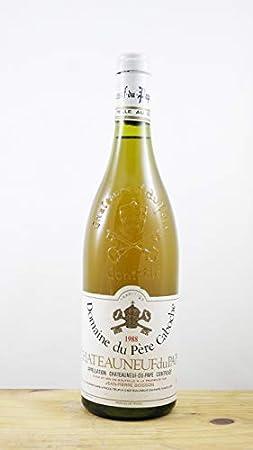 Vino Cosecha 1988 Châteauneuf du Pape Domane du Père Caboche Botella