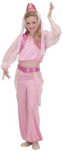 Children's Genie In A Bottle Child 128cm Costume Small 5-7 Yrs (128cm) For (Genie In A Bottle Costume)