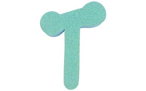 Darice Foamies Glitter Letter Dot to Dot T ()