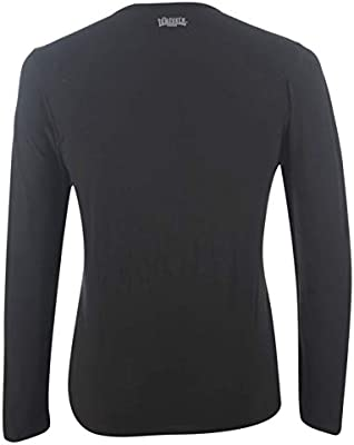 Lonsdale – Calzoncillos Camiseta Manga Larga Camiseta Negro, Hombre, Negro, Extra-Large: Amazon.es: Deportes y aire libre