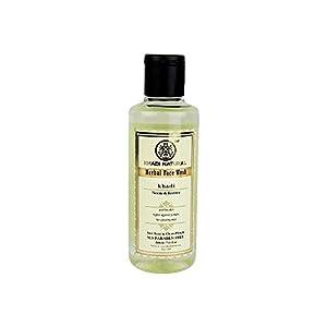 Khadi Natural Herbal Ayurvedic Neem and Tea Tree Face Wash Anti Acne (210 ml) 113