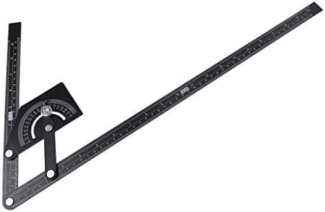 BIlinli 0-180 Grad Winkelsucher Markierungslehre Multifunktionswinkelmesser Messlineal Holzbearbeitungswerkzeug Winkelmessger/äte Markierwerkzeuge