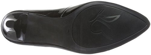 Caprice 22409, Zapatos de Tacón para Mujer Negro (BLACK PATENT 018)