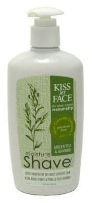 Kiss My Face Moisture Shave 11 oz. Green Tea Bamboo