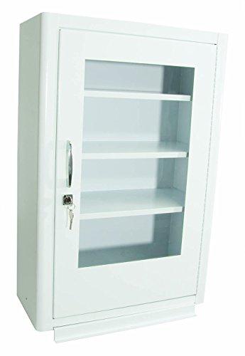North by Honeywell 34300EB Cabinet withLock - Plexiglas Door - 18-Inch x 27-Inch x 8-Inch by Northfifteen