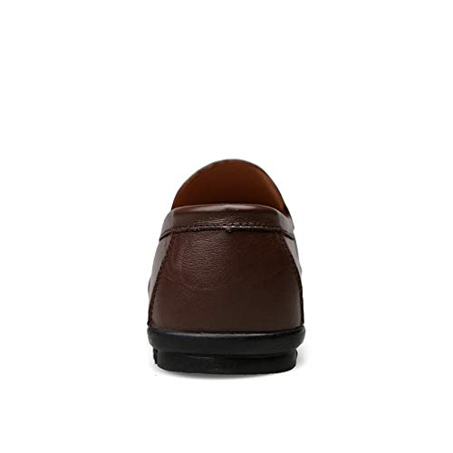 scarpe EU Color Mocassini Dark Warm Fitting Scarpe casual Leggero da per Scuro uomo da Marrone On barca Ofgcfbvxd Slip 43 Brown Mocassini Mocassini Dimensione Wider XB4awY