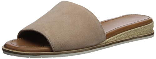 (Kenneth Cole New York Women's Fiona Espadrille Slide Sandal Sandal, Buff, 7 M US)